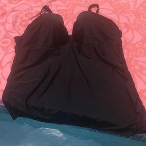 Cacique Swim 42DDD Tankini Top with underwire